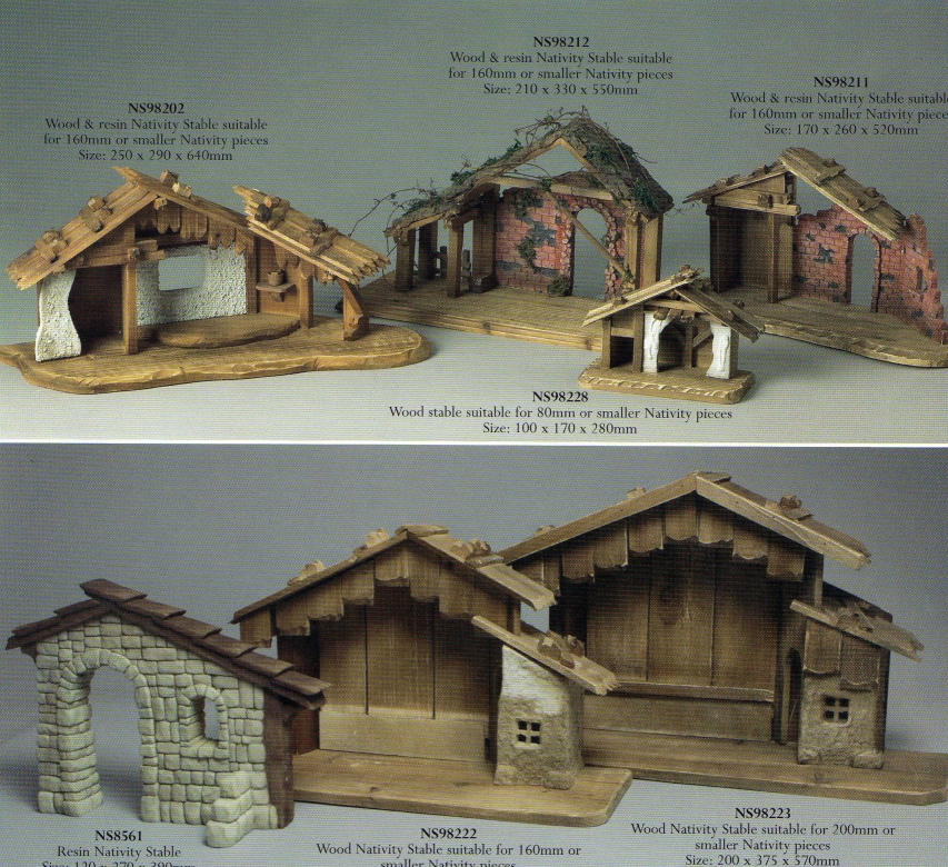 Outdoor Nativity Stable Plans http://sacredartstudio.com.au/?page=cat&id=13